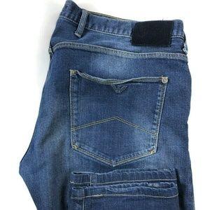 Armani Jeans J10 Extra Slim Dark Wash Blue Jeans